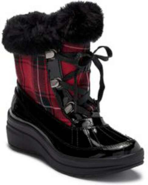 Anne Klein Womens Gayla2 Round Toe Ankle Cold Weather Boots~pp-bd3a8688