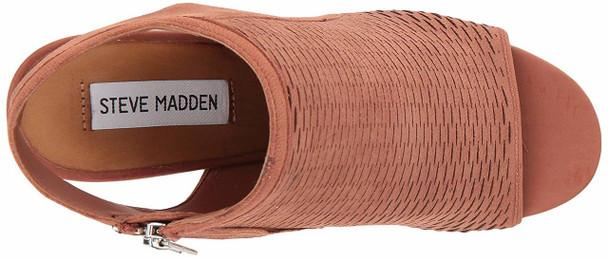 Steve Madden Womens Winny NuBuck Open Toe Casual Platform Sandals~pp-c6896276