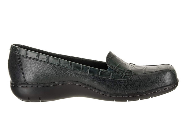 Clarks Womens Bayou Q Leather Closed Toe Loafers~pp-cc3026f6