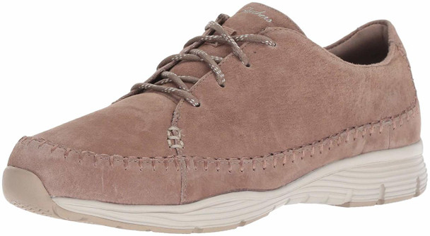 Skechers Women's Seager-Prospect-Moc-Toe Whipstitched Lace-up Sneaker-Classic...~pp-d2634ca5