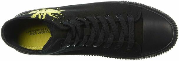 Calvin Klein Jeans Womens Iconica Fabric Hight Top Lace Up Fashion Sneakers~pp-d50798eb