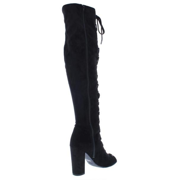 Guess Womens Casidi Peep Toe Over Knee Fashion Boots~pp-da277944