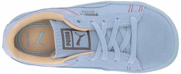 PUMA Kids' Suede Classic Peach Basket Sneaker~pp-db242feb