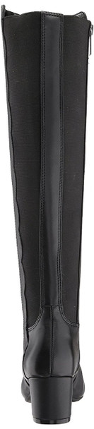Bandolino Womens Florie Leather Square Toe Knee High Fashion Boots~pp-db893542