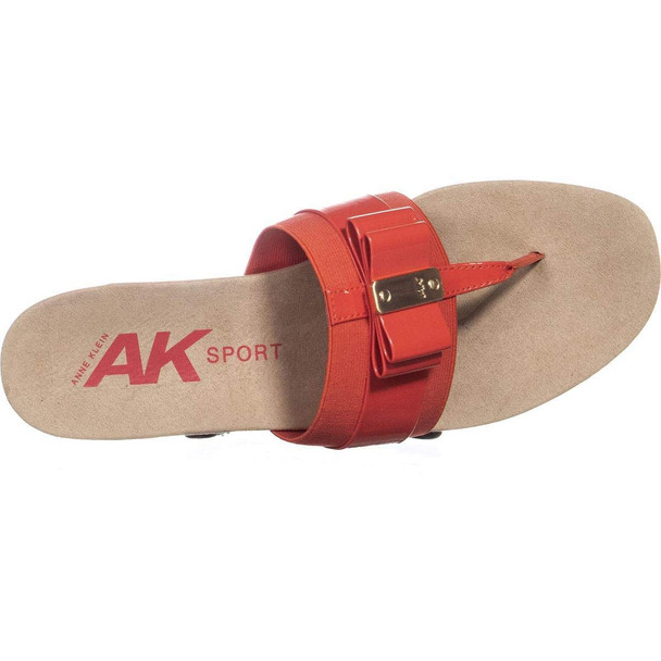 Anne Klein Womens Imperial Open Toe Casual Slide Sandals~pp-e7840dc6