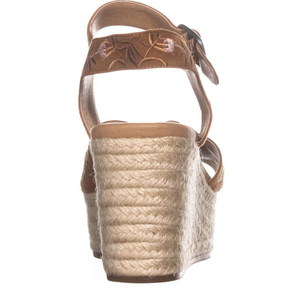 Lucky Brand Womens Naveah2 Fabric Open Toe Casual Espadrille Sandals~pp-eae92433