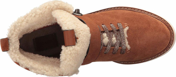 Coach Womens Urban Hiker Suede Closed Toe Ankle Cold Weather Boots~pp-eb0306bf