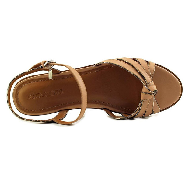 Coach Womens Sophia Open Toe Casual Strappy Sandals~pp-f6690300