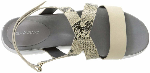 Cole Haan Womens Zerogrand Criss Cross Leather Open Toe Casual Strappy Sandals~pp-f8ce007b