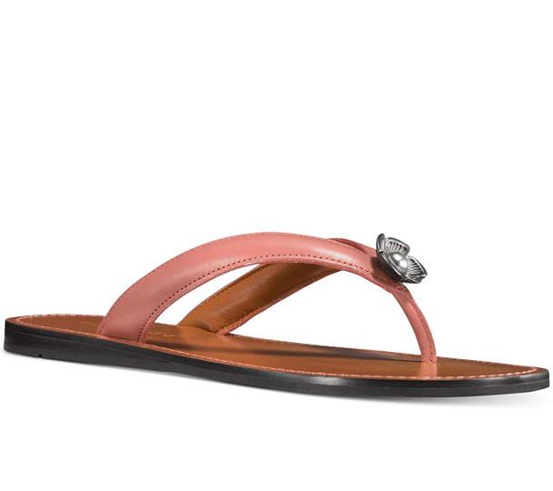 Coach Womens Tearose Flip flop Open Toe Casual~pp-fb5c5041