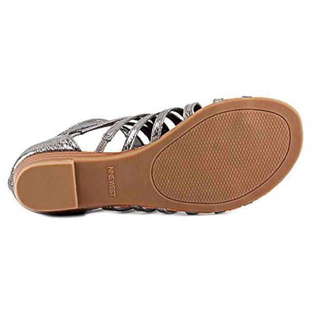 Nine West Womens sunraysol1 Open Toe Casual Slide Sandals~pp-fd7420b4