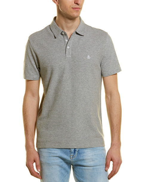 Original Penguin Textured Front Polo Shirt~1010218803
