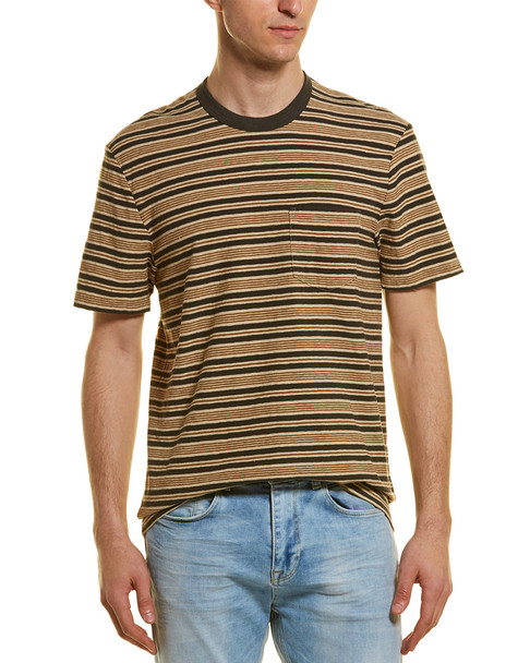 James Perse Vintage Stripe Pocket T-Shirt~1010468227
