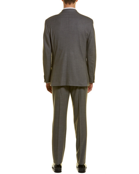 Michael Bastian 2pc Wool Suit with Flat Pant~1011189818