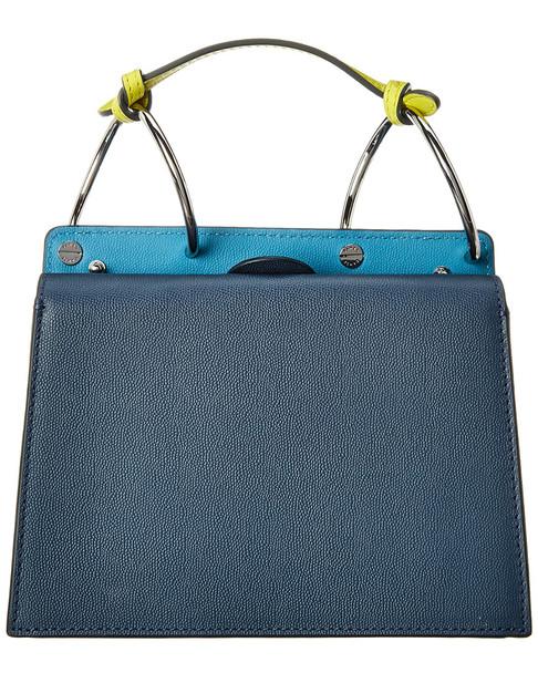 Danse Lente Phoebe Bis Block Leather Shoulder Bag~11602234580000