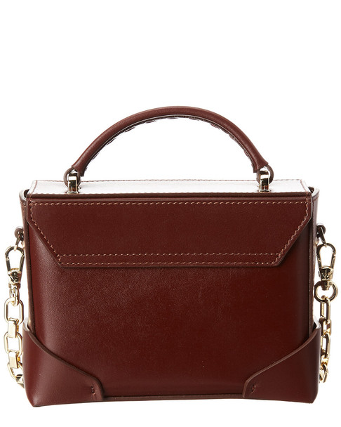 Manu Atelier Micro Bold Chain Leather Shoulder Bag~11602234710000