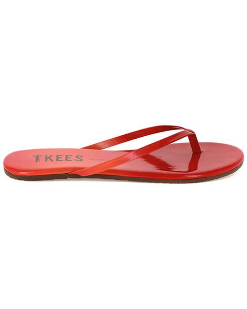 TKEES Blends Leather Flip Flop~1311162538