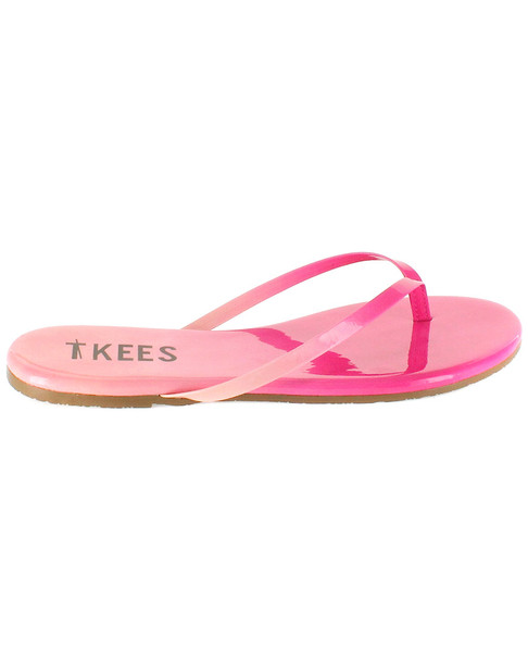 TKEES Blends Leather Flip Flop~1311162539