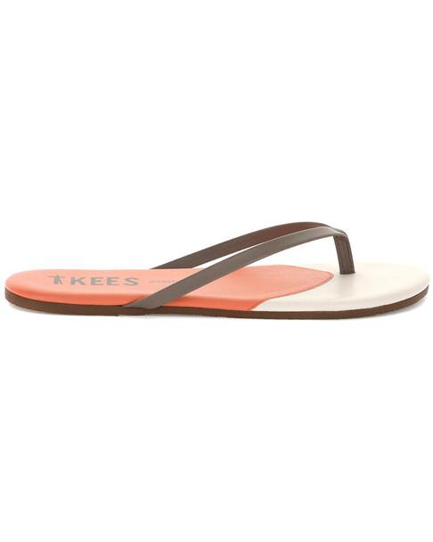 TKEES Contours Leather Flip Flop~1311162540