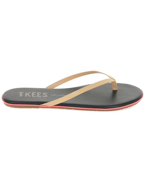TKEES Lipliners Burst Leather Flip Flop~1311162545