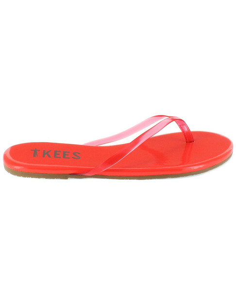 TKEES Sheers Leather Flip Flop~1311162552