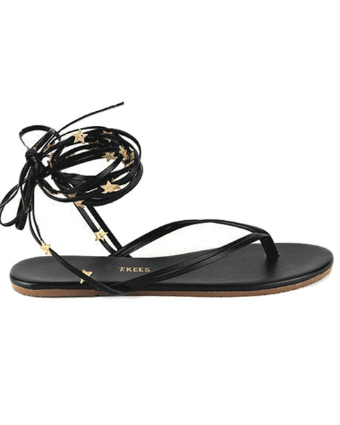 TKEES Lily Wrap Leather Flip Flop~1311162561