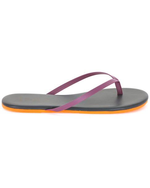 TKEES Pop Colors Leather Flip Flop~1311311161