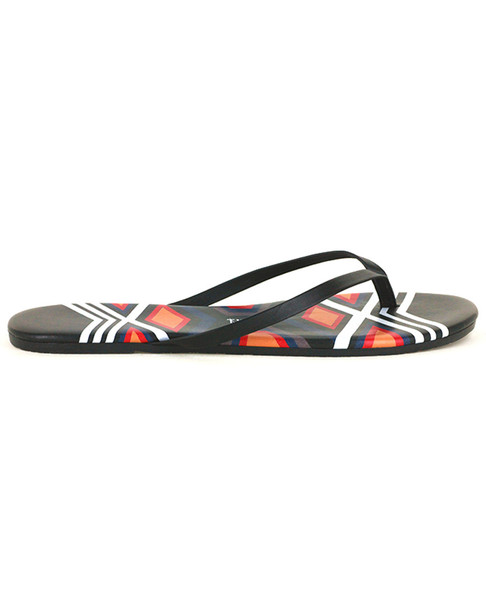 TKEES Graphics Leather Flip Flop~1311898855