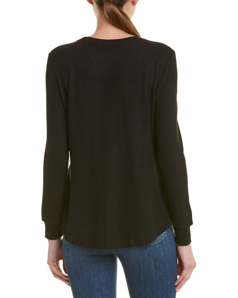 Lea & Viola Dropped-Shoulder Sweater~1411203645