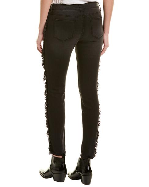 Elan Frayed Charcoal Skinny Leg~1411208857