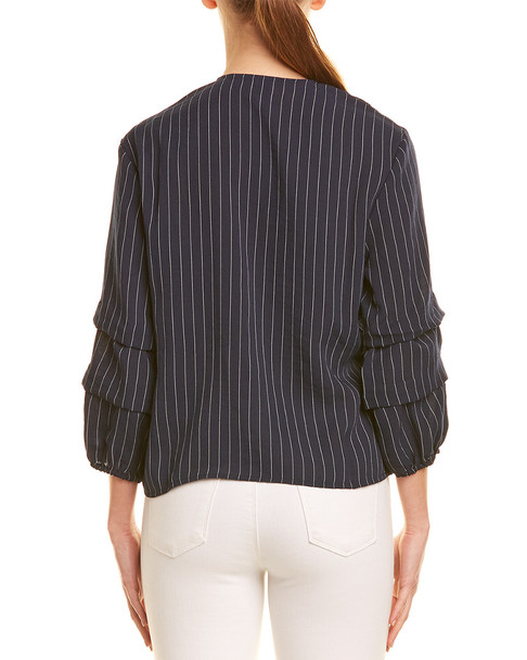 MINKPINK Ruched Wrap Top~1411226271