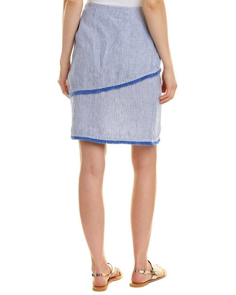 J.McLaughlin Linen Pencil Skirt~1411226955