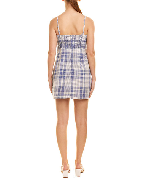 Somedays Lovin Plaid Mini Dress~1411279364