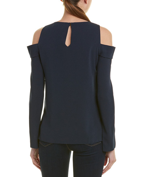 Tibi Savanna Crepe Silk-Lined Top~1411753433