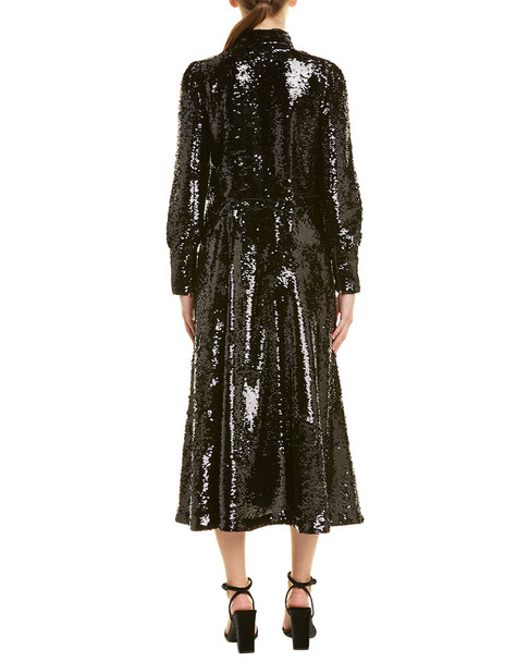 GANNI Sonora Midi Dress~1411908384