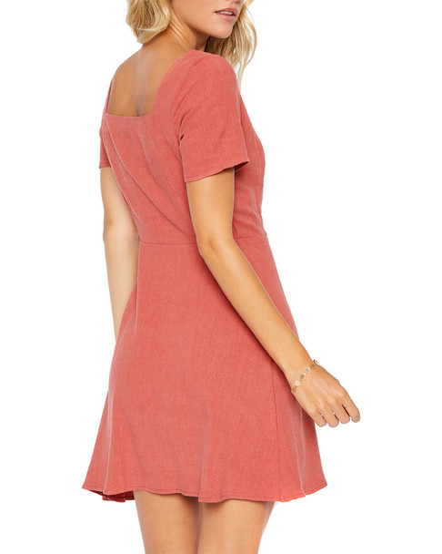 Sadie & Sage Square Neck Button Down Dress~1411964520