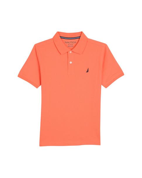 Nautica Anchor Solid Polo Shirt~1511158565