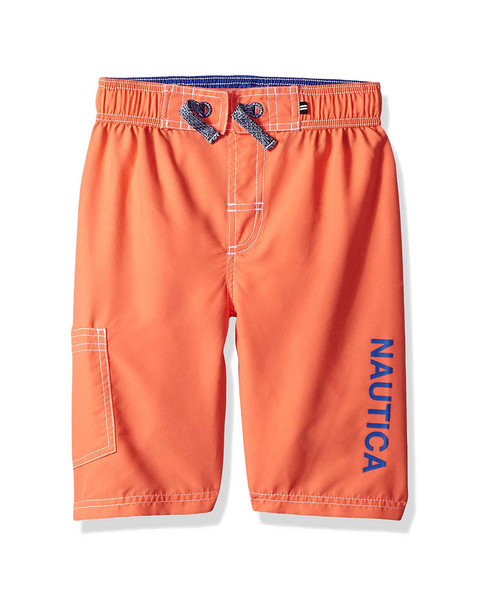 Nautica Anchor Graphic Swim Trunk~1511158586