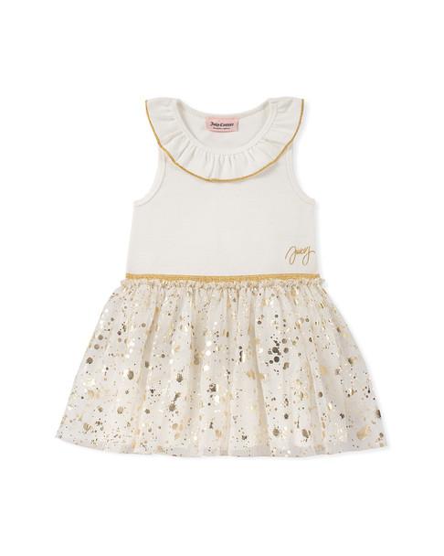 Juicy Gold Metallic Dress~1511198806