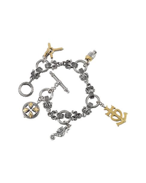 Konstantino Gaia 18K & Silver Bracelet~60301498130000