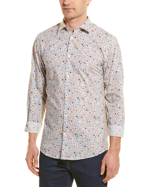 Selected Homme Slim Pen-Garden Woven Shirt~1010180348