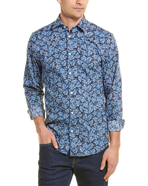 Selected Homme Slim Pen Woven Shirt~1010180349