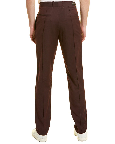 KARL LAGERFELD Pintuck Wool-Blend Trouser~1010197094
