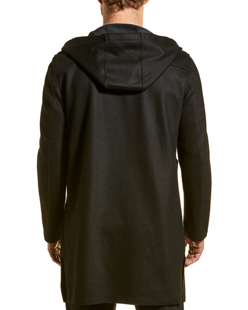 River Stone Slim Fit Wool-Blend Coat~1010222044