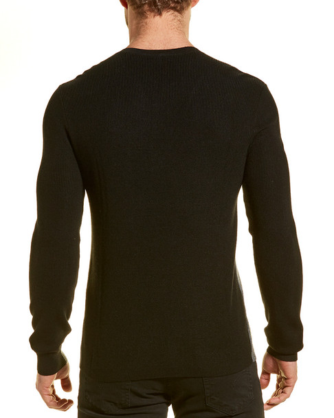 River Stone Modern Fit Two-Tone Wool-Blend Sweater~1010222048