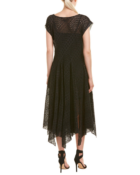 Johnny Was Silk-Blend Midi Dress~1411114133