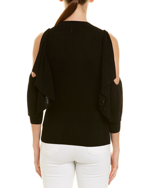 See by Chloe Cold-Shoulder Sweater~1411151575
