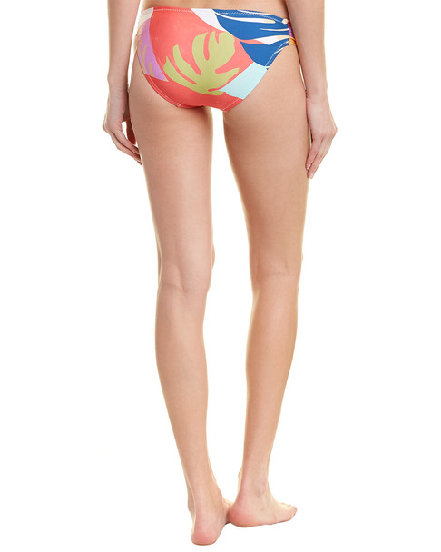 Trina Turk Banana Leaf Shirred Bikini Bottom~1411218547