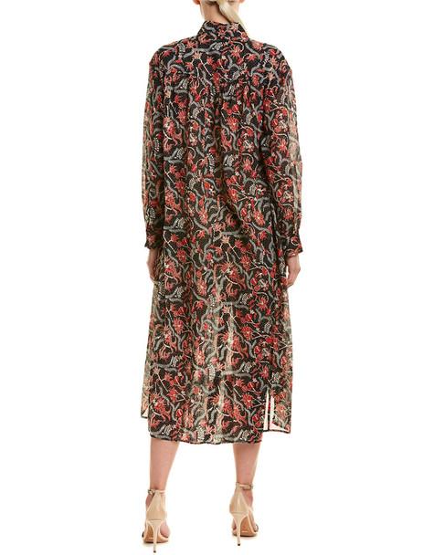 Isabel Marant Floral Midi Dress~1411291530