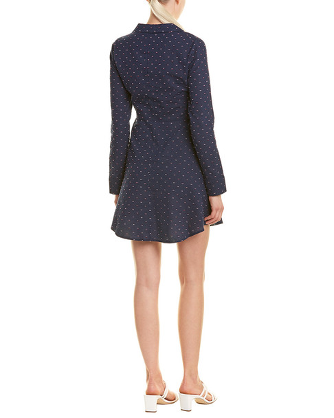 BCBGeneration Overlapping Faux Wrap Dress~1411845560